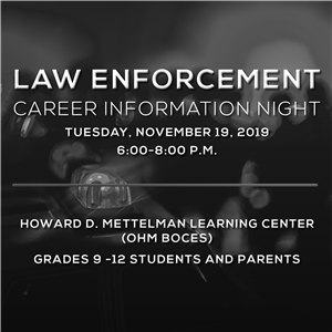 Law Enforcement Career Info Night