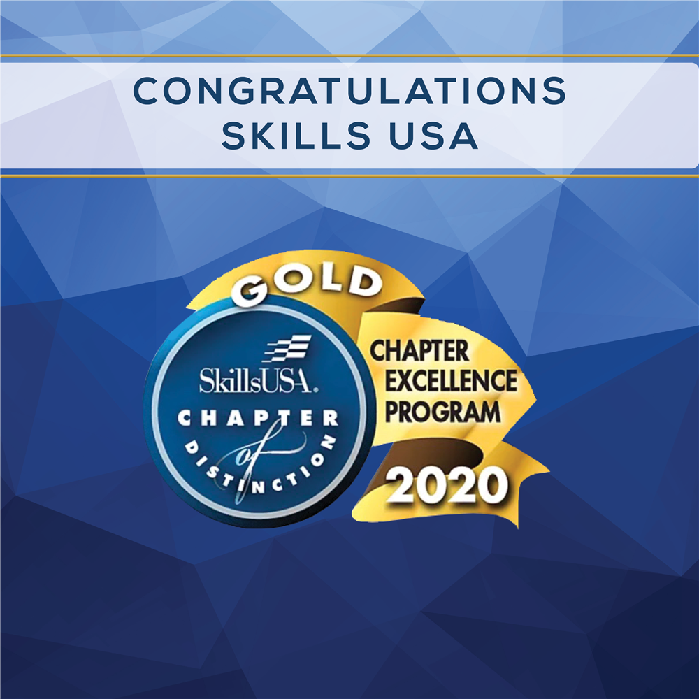 SkillsUSA: Gold Chapter of Distinction