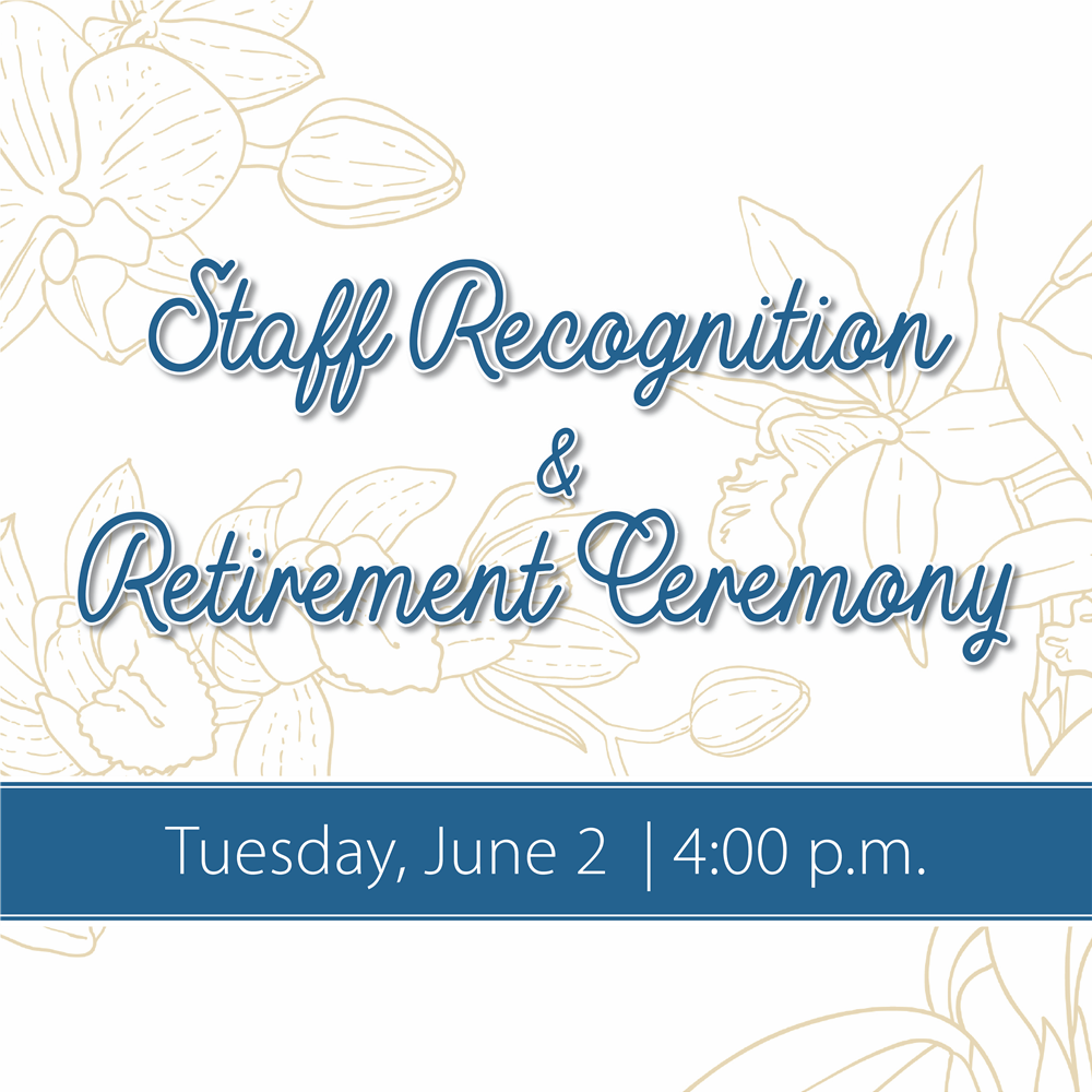 Staff Recognition and Retirement Reception