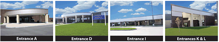OHM BOCES Main Campus Entrances