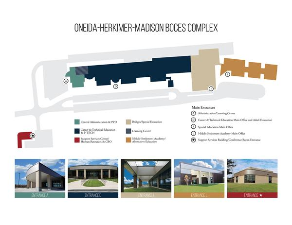 BOCES Complex Map